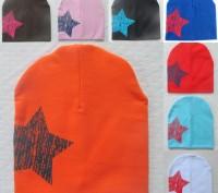 Трикотажная шапочка, двойная. 100 % хлопок. Высота 20,5 см Ширина 19 см Подо. Белая Церковь, Киевская область. фото 6