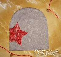 Трикотажная шапочка, двойная. 100 % хлопок. Высота 20,5 см Ширина 19 см Подо. Белая Церковь, Киевская область. фото 10