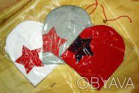 Трикотажная шапочка, двойная. 100 % хлопок. Высота 20,5 см Ширина 19 см Подо. Белая Церковь, Киевская область. фото 7