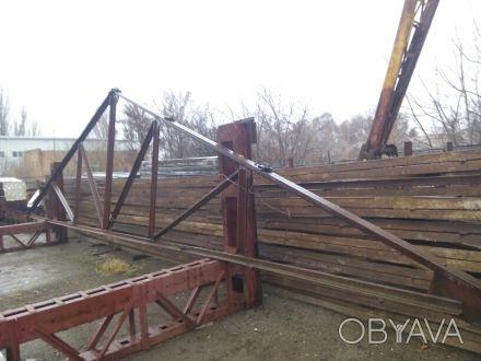Продам фермы двускатные 12 м. Высота в коньке 2,60 м, в наличии 30 шт. Находится. Бровары, Киевская область. фото 1