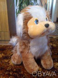 Большая мягкая собака, высота 70 см, состояние отличное, цена 150,0грн.. Одесса, Одесская область. фото 5