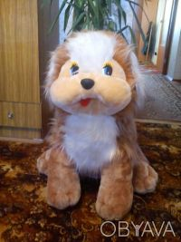 Большая мягкая собака, высота 70 см, состояние отличное, цена 150,0грн.. Одесса, Одесская область. фото 3