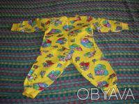 пижама практически новая, утепленная, без дефектов, пятен и повреждений; длина к. Днепр, Днепропетровская область. фото 2