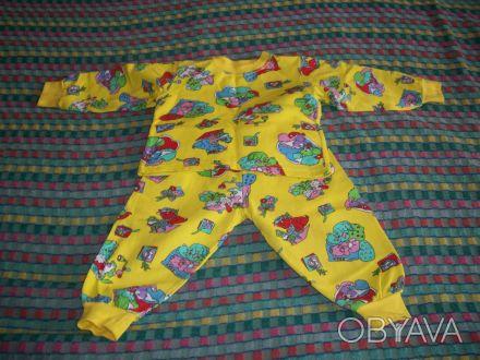 пижама практически новая, утепленная, без дефектов, пятен и повреждений; длина к. Днепр, Днепропетровская область. фото 1