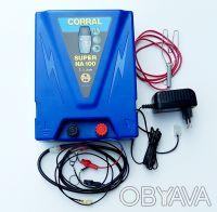 Генератор для электропастуха Corral NA 100 (питание 12В и 220В). Днепр. фото 1