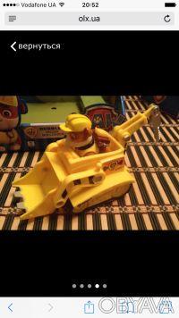 Набор игрушек для маленьких любителей мультсериала Щенячий патруль: Крепыш на ма. Сумы, Сумская область. фото 5