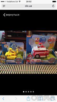 Набор игрушек для маленьких любителей мультсериала Щенячий патруль: Крепыш на ма. Сумы, Сумская область. фото 2