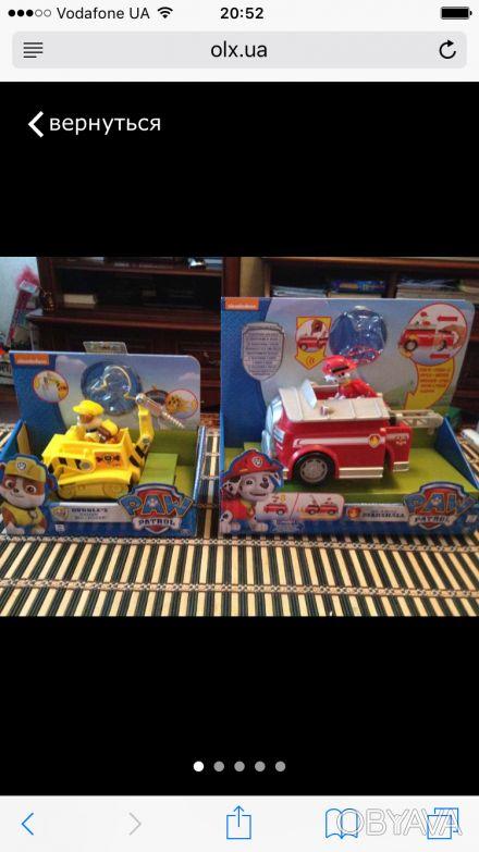 Набор игрушек для маленьких любителей мультсериала Щенячий патруль: Крепыш на ма. Сумы, Сумская область. фото 1