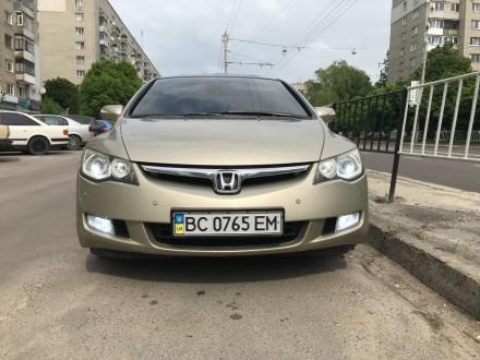 Продам хонду сівік газ/бензин автомат. Львов, Львовская область. фото 2
