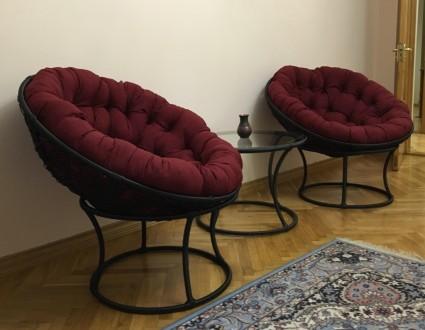 Комплекти меблів з ротангу, крісла, столи, меблі для балкону лоджії. Мостиска. фото 1