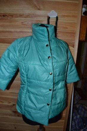 Куртка бирюза! размер 44-46. Харьков. фото 1