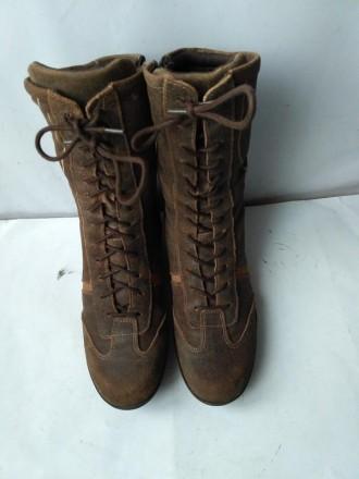 Ботинки. кожаныедлина стельки 24.5 см размер 38. Харьков. фото 1