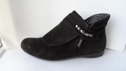 Ботинки замшевые ботиночки! размер 38.5(5.5). Харьков. фото 1