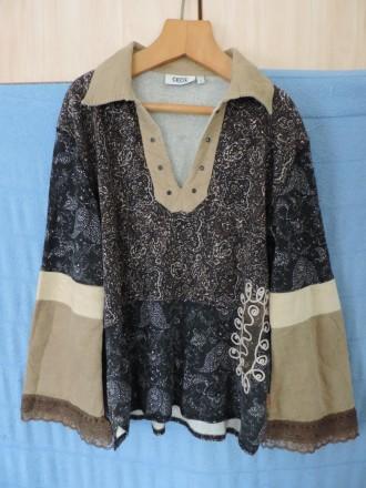 Рубашка-кофта женская, этно стиль. Киев. фото 1