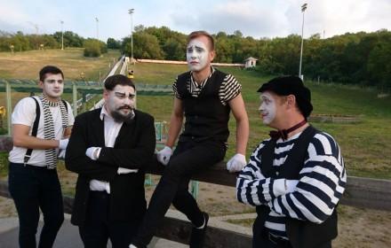 Мимы,клоуны,фокусники,музыканты,АРТ-группа. Киев. фото 1