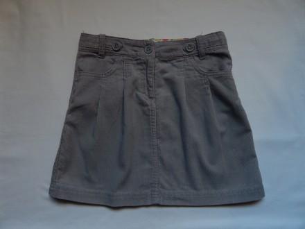 Вельветовая юбка Sela для девочки , рост 140 см, спідниця. Чернигов. фото 1