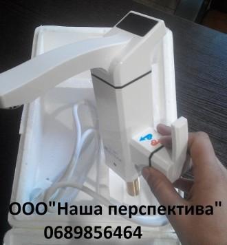 Кран водонагреватель проточный электрический с цифровым лэд дисплеем. Имеет высо. Кривой Рог, Днепропетровская область. фото 5