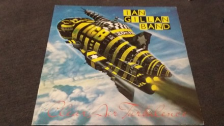Gillan.1977.clear air turbulence/island/ger. Кропивницкий. фото 1