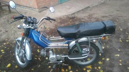 Мотоцикл KANUNI Ностальгия. Гребенка. фото 1