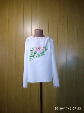 Вышиванка для девочки. Гайсин. фото 1