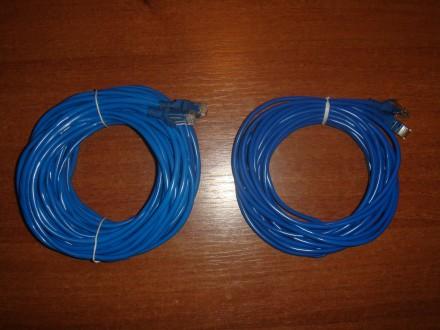 АКЦИЯ Патч-корд Lan. Сетевой кабель (RJ-45) 8 м. 16 м.. Киев. фото 1