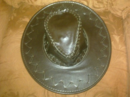 Продам новую шляпу ( Сомбреро ) темно коричневого цвета. Лисичанск. фото 1