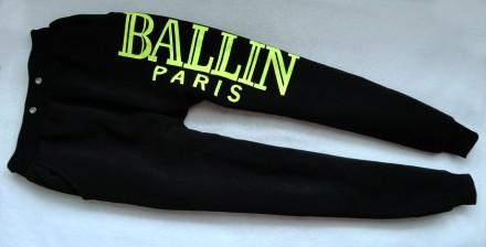 Утепленные фирменные штаны ballin 14-16л р.164-170 италия. Донецк. фото 1