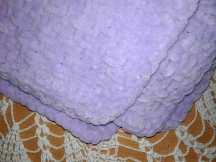 Плюшевый плед, одеяло, покрывало детское, хендмейд. Орджоникидзе. фото 1
