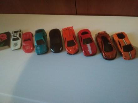 Продам набор металлических гоночных машинок. Мариуполь. фото 1