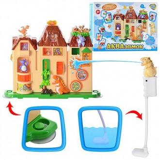 Игровой набор для купания Аквазамок Aqua Toys. Днепр. фото 1
