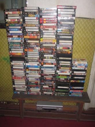 Продам видеокассеты с фильмами. Чернигов. фото 1