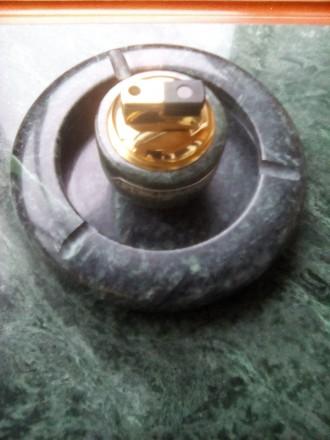 Прадам зажыгалка  и  пепелница комплект натуралнога камина прозвадител Италия. Житомир, Житомирская область. фото 3