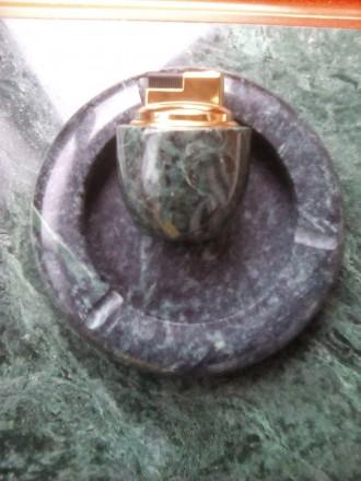 Прадам зажыгалка  и  пепелница комплект натуралнога камина прозвадител Италия. Житомир, Житомирская область. фото 2