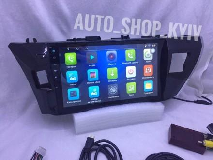 Штатная магнитола Toyota Corolla 160 Android 8 10,1 дюйм 2014 2015 2ГБ/ 32 ГБ. Киев. фото 1