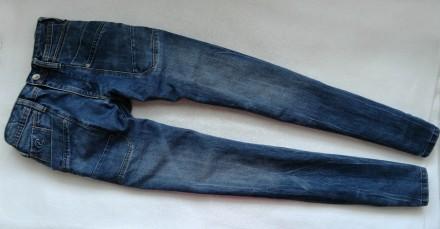 Стильные фирменные джинсы chief denim brand р.28 16-17л р.176-182. Донецк. фото 1