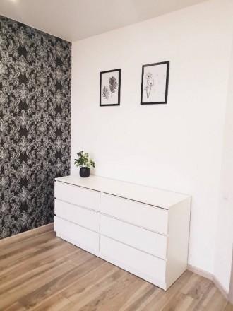 Укомплектована сучасна квартира, є усі меблі та побутова. Ціна 5500+ ліч Перед. Счастливое, Ровно, Ровненская область. фото 12
