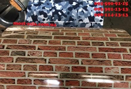Профнастил под кирпич облицовочный купить от производителя по низкой цене Метал. Киев, Киевская область. фото 4