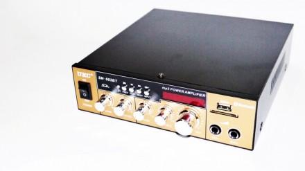 Усилитель UKC SN-003BT - Bluetooth, USB,SD,FM,MP3! 300W+300W Караоке 2х канальны. Чернигов. фото 1