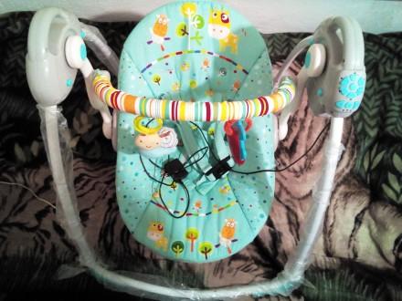 Кресло-кроватка-качалка.Дешево!!!. Бердянск. фото 1