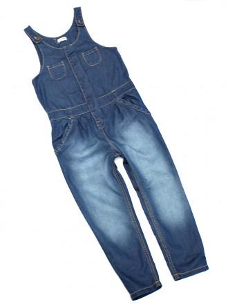 Стильный джинсовый комбез next, 8 лет. Никополь. фото 1