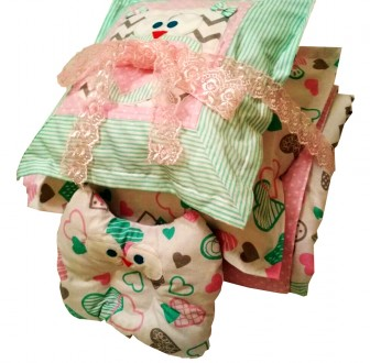 Детский комплект постельного белья в кроватку. Лисичанск. фото 1
