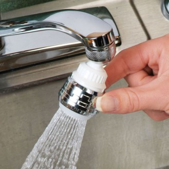 Водосберегающая поворотная насадка аэратор Eco-Water. Три режима работы!  -Эко. Винница, Винницкая область. фото 3