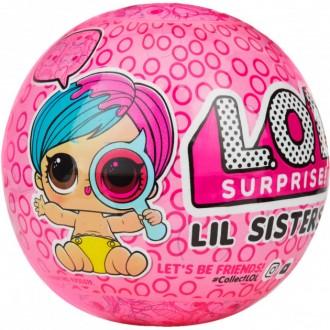 кукла L. O. L Surprise S4 - Маленькие сестрички Оригинал MGA. Киев. фото 1