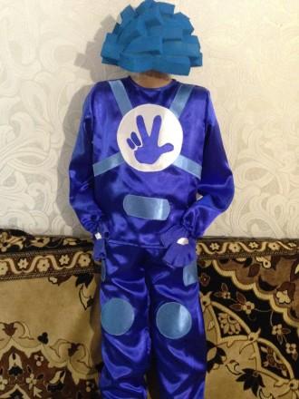 Карнавальный костюм фиксика Нолика. Чугуев. фото 1
