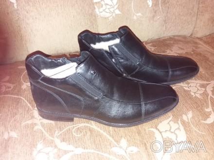 ᐈ Нові зимові чоловічі туфлі на овечому хутрі. Розмір -44 ᐈ Львів ... 884bf023f0d75