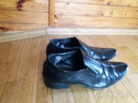 fb1cfb01165965 ᐈ Чоловічі шкіряні туфлі. Розмір - 41. Б/у ᐈ Львів 350 ГРН - дошка ...