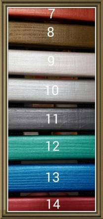 Описание  Составляющие:1 рамка 13*18 и 12 рамок 10*15 см., Материал:ольха За. Киев, Киевская область. фото 4