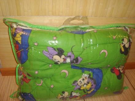 Одеяло и подушка в детскую кроватку. Першотравенск. фото 1