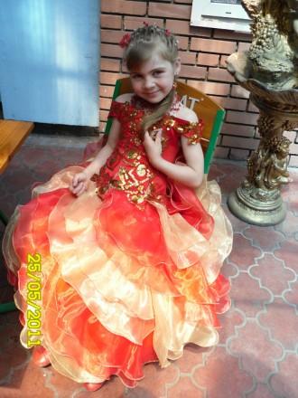 Продам праздничное платье. Першотравенск. фото 1