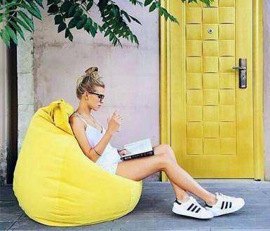 Бескаркасная мебель от производителя. Кресла мешки розницу и оптом. Киев. фото 1